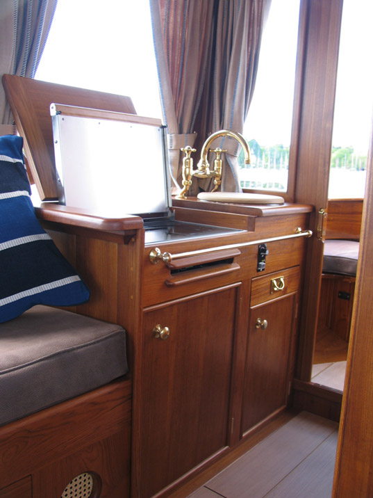 Dragonfly Interior - Galley